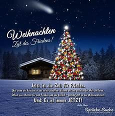 Weihnachten Zeit Des Friedens Gedanken Spr 252 Che Suche