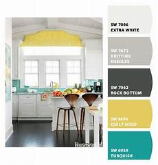bright and sunny kitchen palette paint colors from chip it by sherwin williams over the