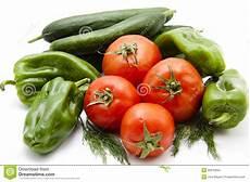 gewächshaus gurken und tomaten tomaten mit paprika und gurken stockfoto bild frisch
