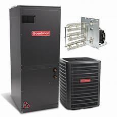 goodman 2 5 ton 15 seer with electric heat split system 2 5 ton 3 0 ton ac electric heat