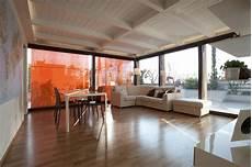 coprire una terrazza veranda realizzata mediante impermeabilizzazione e