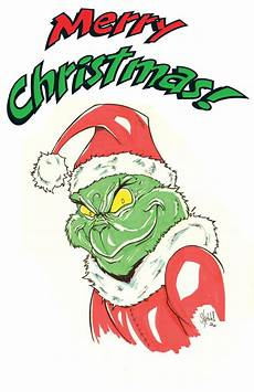 christmas grinch by sketchheavy