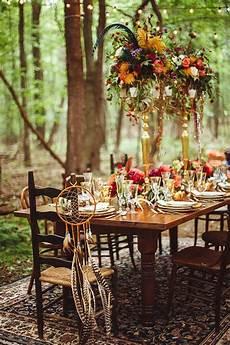 how to host the perfect bohemian chic outdoor dinner party