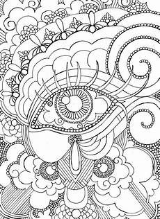 eye want to be colored coloring page steunk
