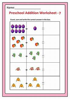 preschool worksheets free 18349 preschool basic addition worksheets free printable preschool and kindergarten