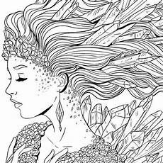 Ausmalbilder Elfen Erwachsene Image Result For Free Colouring Advanced Rysunki