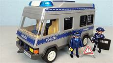 Playmobil Malvorlagen Polizei Playmobil Polizei Mannschaftswagen 4022 Seratus1 Unboxing