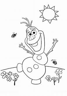 Olaf Ausmalbilder Gratis Coloring Olaf Frozen Coloring Pages Summer Coloring