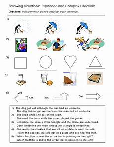primary directions worksheets for grade 3 11693 following directions worksheets activities goals and more free language stuff
