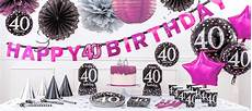 40e verjaardag roze feestartikelen partycity nl