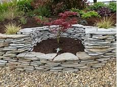 Stein Und Garten - steinmauer als blickfang und sichtschutz im garten 40 ideen