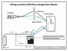 wiring diagram garage door opener smart home diy products reviews garage doors garage