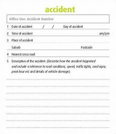 25 accident report forms free pdf apple pages google