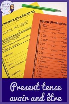worksheets for verb etre 19140 avoir 234 tre verbs notes and worksheet present tense learn how to speak