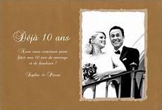invitation 10 ans de mariage original mariage carte invitation 30 ans mariage