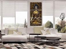 wandbilder xxl buddha bild figur deko bilder leinwand