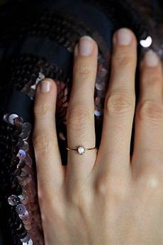 15 photo of small size engagement rings