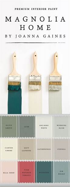 the magnolia home paint collection from designer joanna