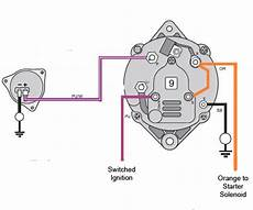 omc alternator wiring diagram new alternator question page 1 iboats boating 570476