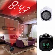 Digital Time Projector Snooze Alarm Clock by 2018 New Projection Alarm Clock Digital Date Snooze