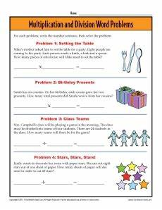 division word problems worksheets 3rd grade 11404 3rd grade word problem worksheets