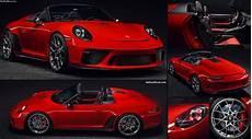 Porsche 911 Speedster Ii Concept 2018 Pictures