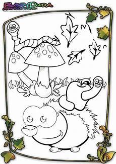 Ausmalbild Igel Im Herbst Herbst Ausmalbilder Herbstmotiv Herbstlaub Tiere