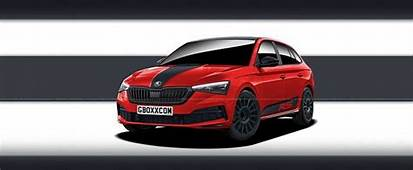 Skoda Scala RS Is A Rendering Waiting For Production