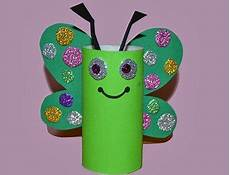 mariposa multicolor manualidad de reciclaje ni 241 os