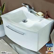Gästebad Waschtisch Schmal - g 228 stebad waschtisch schmal puris for guests waschtisch set