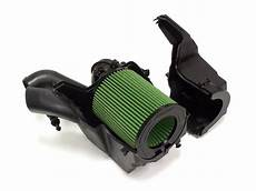 fswerks green filter cool flo oem air intake system ford
