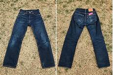 levi s 501 shrink to fit 1 year 1 wash fade of the day