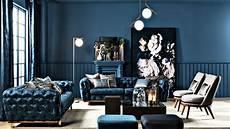 interior design blue sofa 50 shades of blue in a