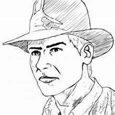 indiana jones and his leather whip coloring pages