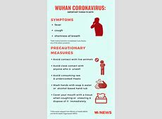 what are the first signs of coronavirus