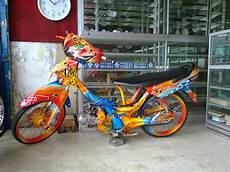 Modifikasi Supra X Lama by Modifikasi Supra Fit 2004 2005 2006 2007 Lama New Airbrush