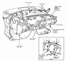 88 mustang dash wiring diagram 2010 jeep wrangler unlimited sport 2wd 3 8l sfi ohv 6cyl repair guides interior instrument
