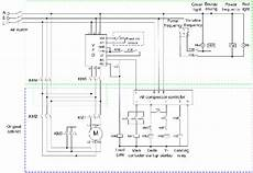 Industrial Compressor 3 Phase Wiring Diagram by Wiring Diagram For 220 Volt Air Compressor