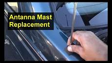 how to remove antena on a 2005 volvo xc70 antenna mast replacement volvo 850 s70 and other cars auto repair series youtube
