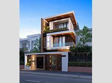 Biet thudep   Minimalist house design, House front design