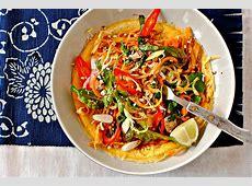 Pad Thai Crepes   food to glow