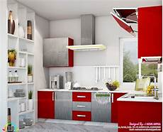 House Kitchen Interior Design Kerala Kitchen Interiors Kerala Home Design And Floor Plans