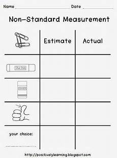 free non standard measurement worksheets for kindergarten 1865 10 best work sheets all subjects images on learning elementary schools and school