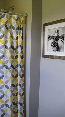 yellow and grey bathroom decorating ideas i married a tree hugger cheery yellow and grey bathroom