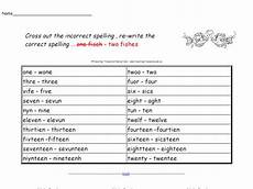 identifying spelling mistakes worksheets 22483 spelling identifying incorrect spelling worksheet for 3rd 4th grade lesson planet