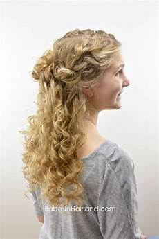Up And Curly Hairstyles