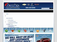 Bankschevrolet.com: Banks Chevrolet, Cadillac, Buick, GMC