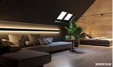 Go Black Or White In These Two Sloped Ceiling Apartmentshome Designing go black or white in these two sloped ceiling apartments