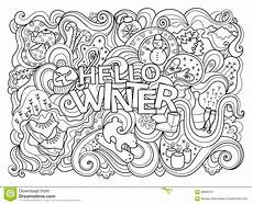 detailed winter coloring pages free coloring library