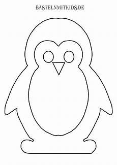 Bastelvorlage Pinguin Papier - malvorlagen und briefpapier gratis zum drucken basteln